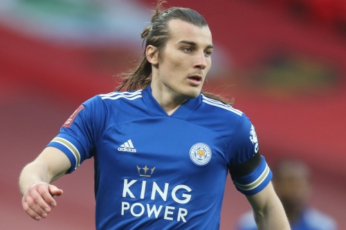 Leicester City's Turkish defender Caglar Soyuncu