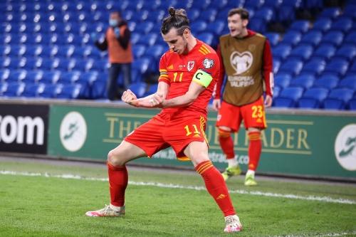 Wales' star man Gareth Bale