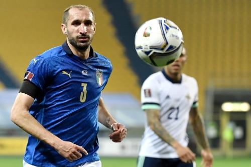 Veteran Italy defender Giorgio Chiellini