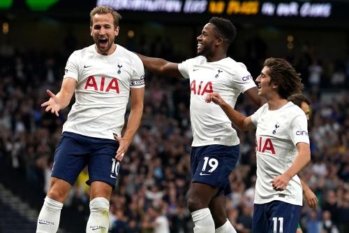 Harry Kane Tottenham contre Pacos de Ferreira