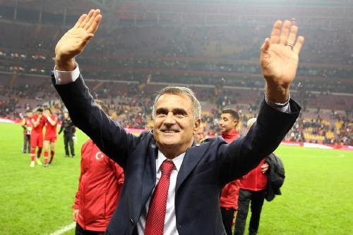Turkey manager Senol Gunes