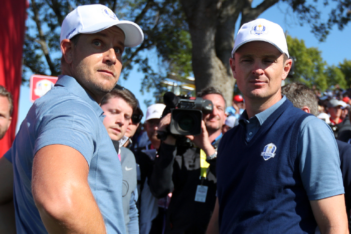 The pairing at the 2016 Ryder Cup.