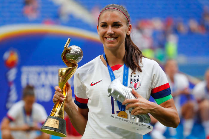 Alex Morgan is one of the all-time greats of the USWNT