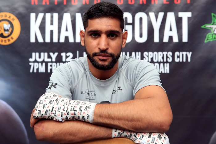 Amir Khan is yet to have been honoured by Her Majesty.