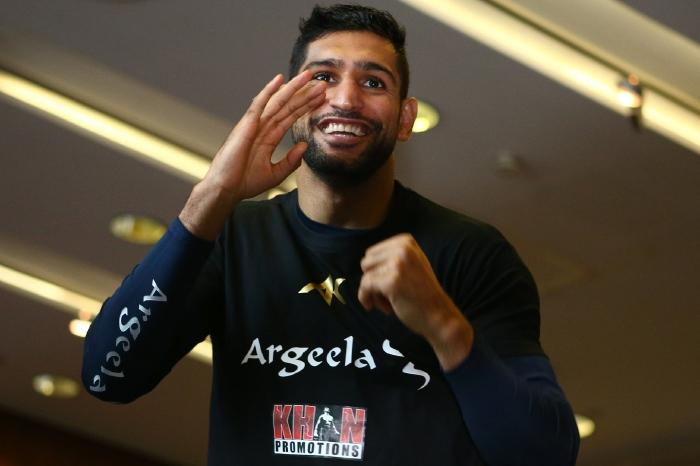 Amir Khan wants to fight Kell Brook next and says he will knock him out inside six rounds