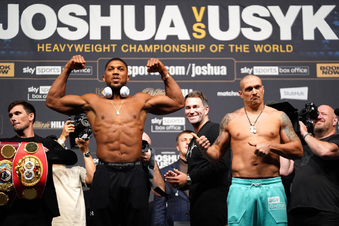Joshua vs Usyk: Predictions from Andy Lee, Johnny Nelson, Spencer Oliver and more