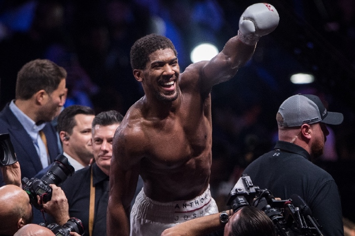 Anthony Joshua defeated Andy Ruiz Jr in 2019 to regain his world titles