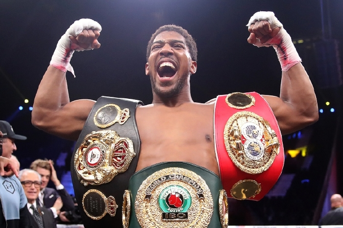 American cruiserweight fighter reflects on sparring with Anthony Joshua