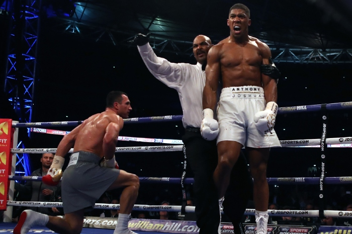 Anthony Joshua committed to fighting Tyson Fury and gives June as possible date