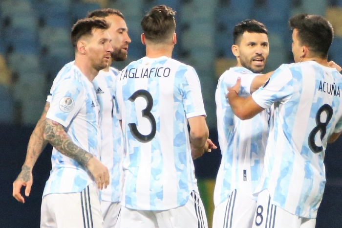 Argentina and Messi are on the brink of history.