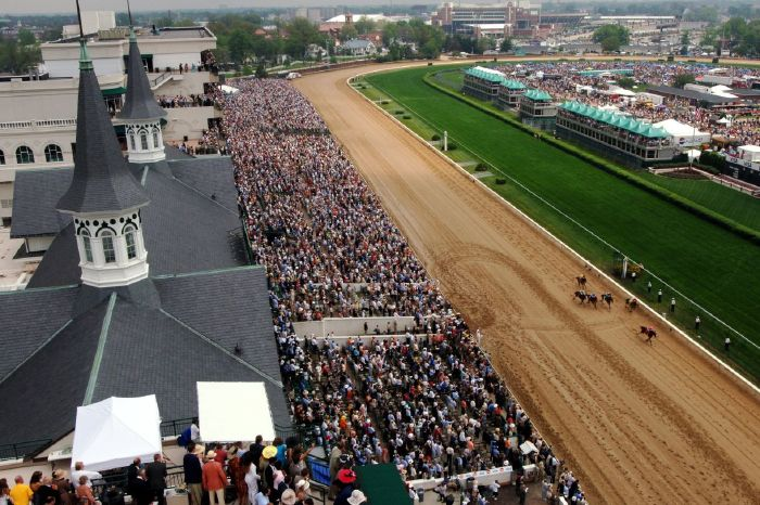 This year's Kentucky Derby is set to take place on May 1