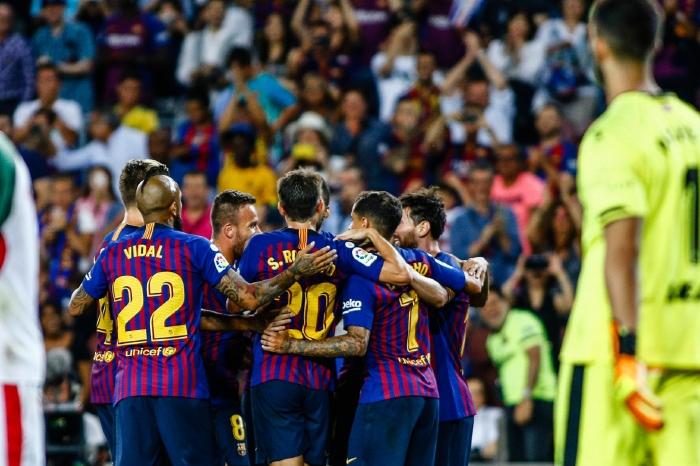 Barcelona have won their last six games on the bounce
