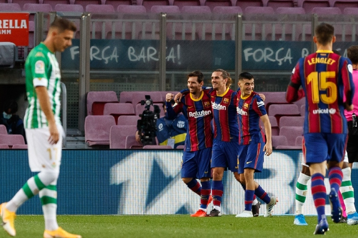 Barcelona have won their last five La Liga games on the bounce