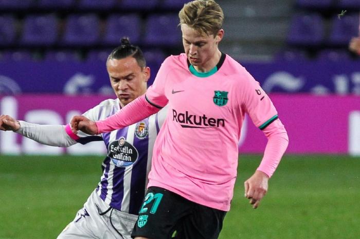 De Jong versus Valladolid, 2021