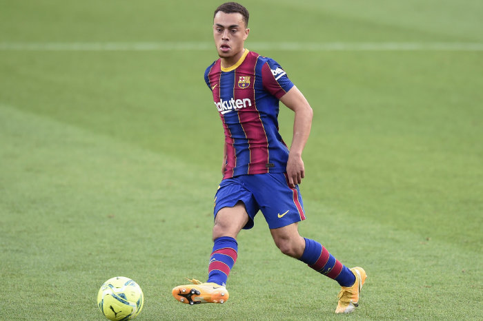 Sergino Dest: Came off the bench after 72 minutes for Barcelona