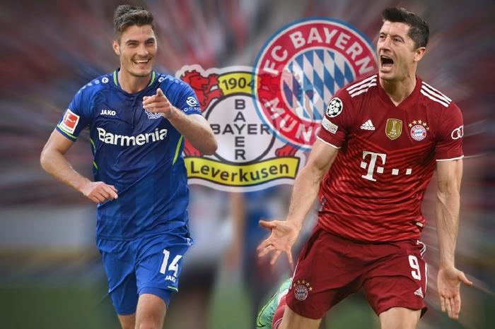 Robert Lewandowski and Patrik Schick go head to head on Sunday in the Bundesliga