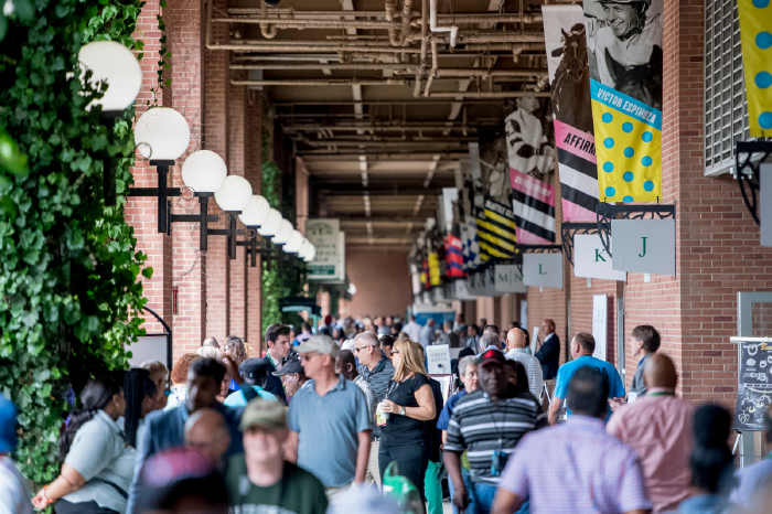 The Belmont Stakes takes place at Belmont Park on June 5.