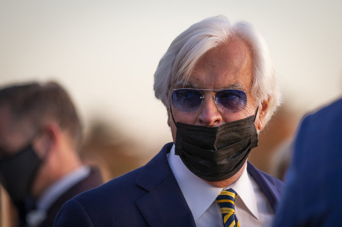 Bob Baffert now only has one runner at the Kentucky Derby on May 1