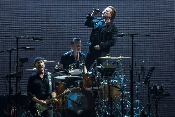 U2 open up about their 24 hours of heaven in Brian Doogan's 'The SuperFight'