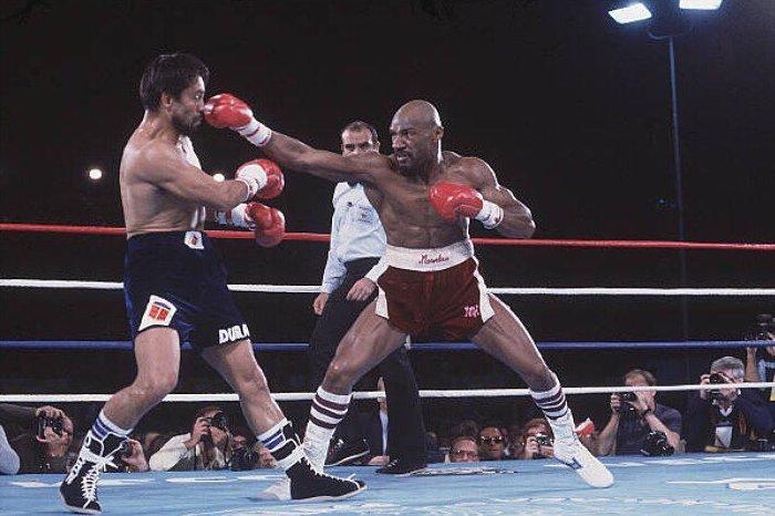 Marvelous Marvin Hagler vs Roberto