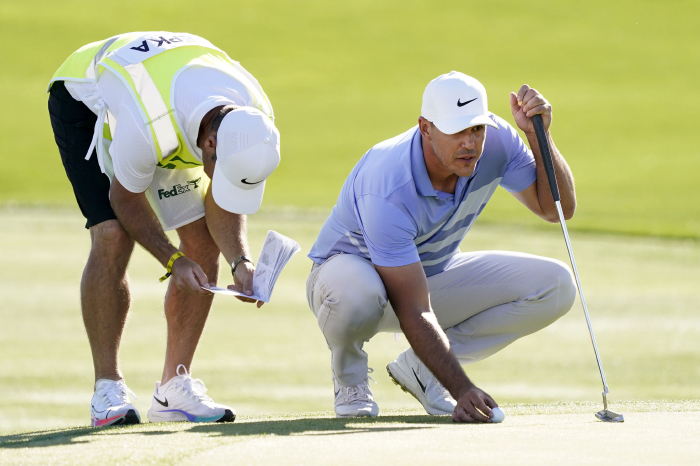 Koepka was happy to be back on Florida's Bermuda grass greens.