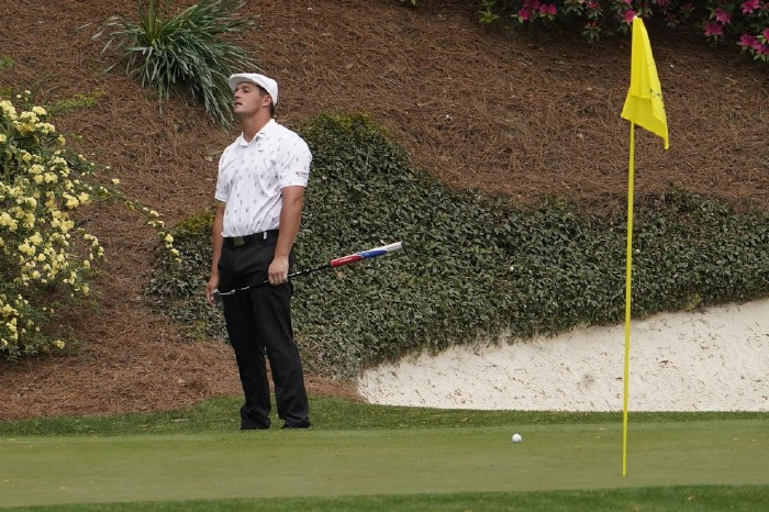 DeChambeau struggled again at Augusta