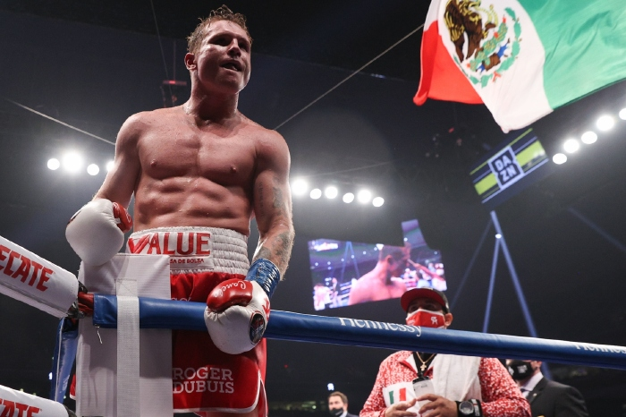 Canelo looks forward to Billy Joe Saunders after routine success in Miami
