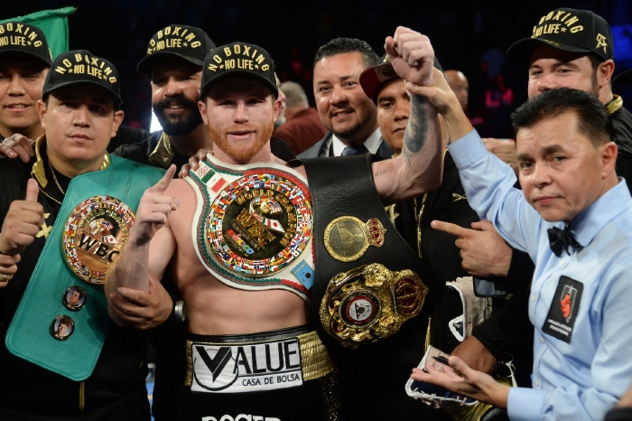 Amir Khan has been full of praise for the punching power of Saul 'Canelo' Alvarez