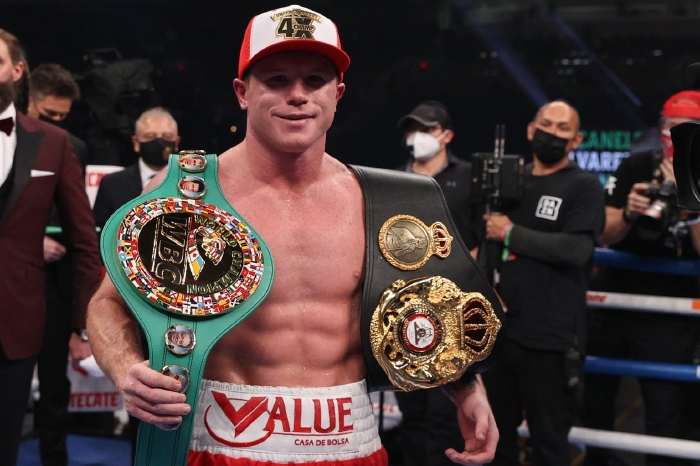 Canelo Alvarez is rated as boxing's pound for pound No.1