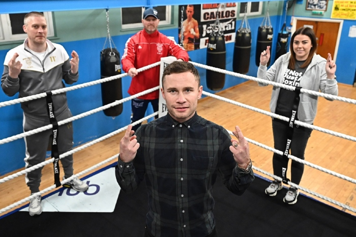 Carl Frampton is looking to become Ireland's first three-division world champion