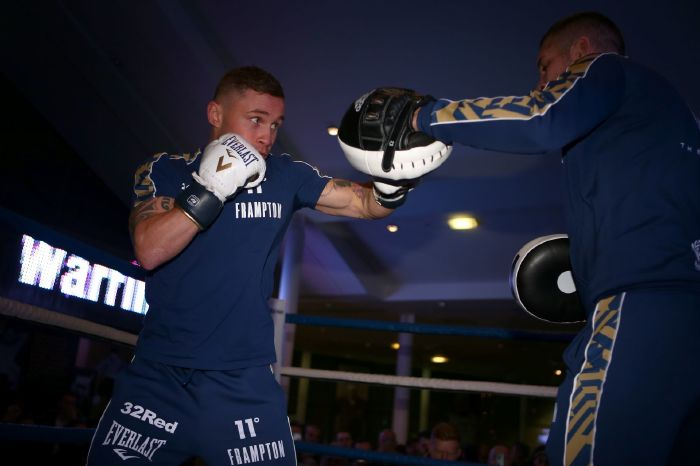 Jamie Moore has no regrets halting proceedings in Carl Frampton's final fight