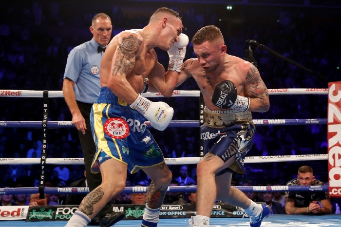 Josh Warrington and Carl Frampton fought in a Fight of the Year contender in 2018