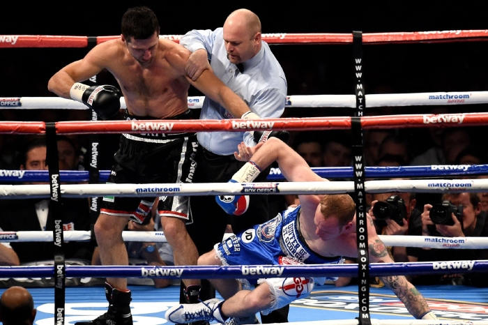 Carl Froch beat George Groves at Wembley Stadium
