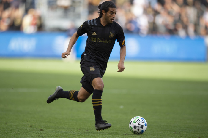 Carlos Vela will be missing for LAFC at the weekend