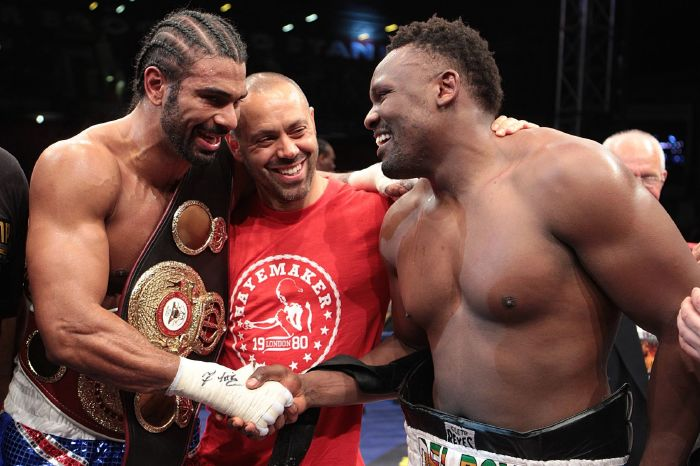 Here is a detailed look back on the strange relationship between David Haye and Derek Chisora