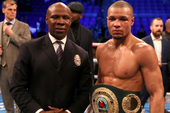 Chris Eubank Jr is targeting a world title showdown with Saul 'Canelo' Alvarez