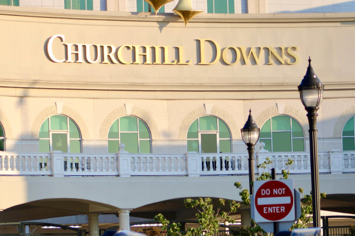 The Kentucky Derby takes place at Churchill Downs a week on Saturday
