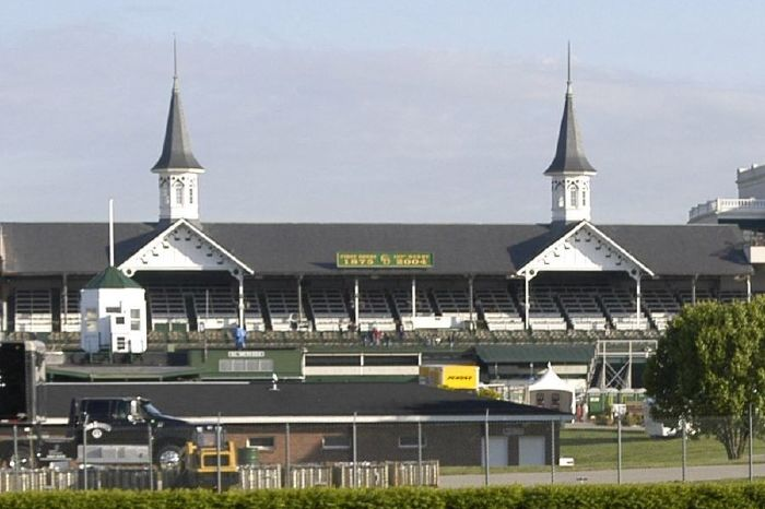 The Kentucky Derby takes place at Churchill Downs on the first Saturday of May