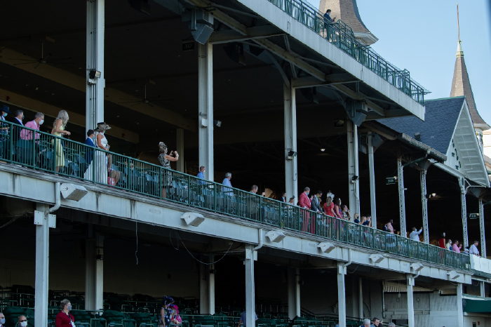 The Kentucky Derby takes place at Churchill Downs on Saturday, May 1