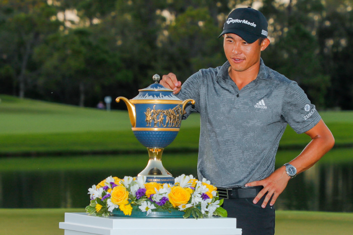 The victory was Morikawa's fourth in just 41 PGA Tour starts.