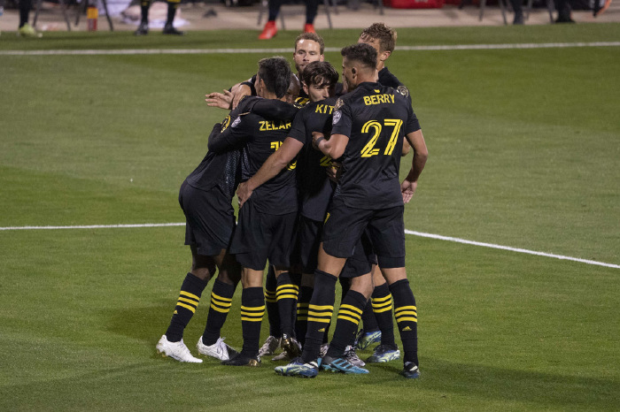 Columbus Crew made it through to the last eight of the CONCACAF Champions League