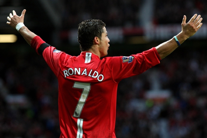 Cristiano Ronaldo - Man Utd icon