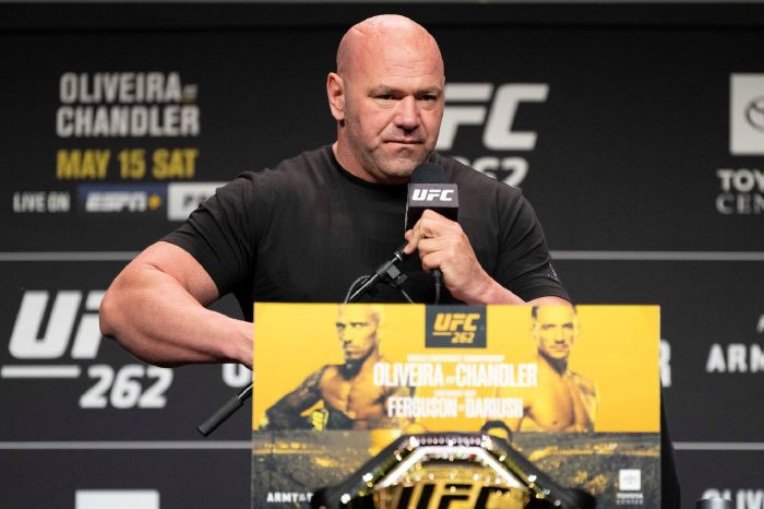 UFC president Dana White has hit out at Triller and Jake Paul