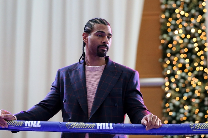 David Haye is considering a boxing comeback aged 40