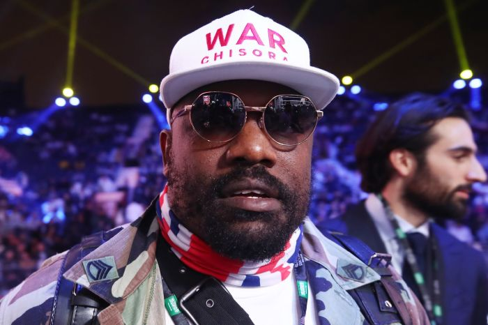 Derek Chisora plans to throw all of his boxing mementos on fire when he retires