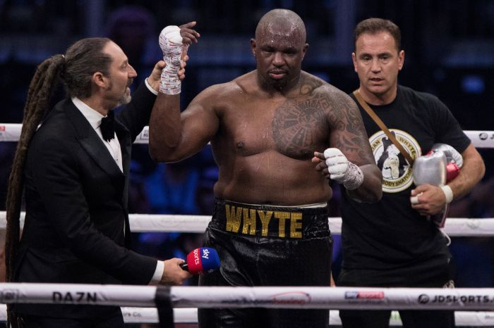 Dillian Whyte labels Tyson Fury a 'clown' ahead of Otto Wallin fight