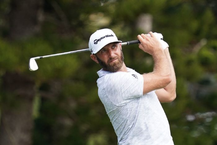 Dustin Johnson at the 2021 Sentry of Champions