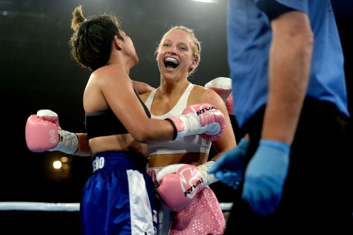 Exclusive: Ebonie Bridges dedicated to end the stigma of women's boxing