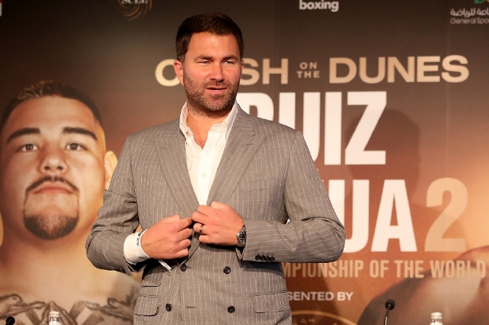 Eddie Hearn: Five times the Matchroom promoter has smashed it out the park
