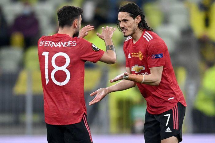 Edinson Cavani was a handful in the Europa League final